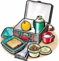 no waste lunch day lesson plan